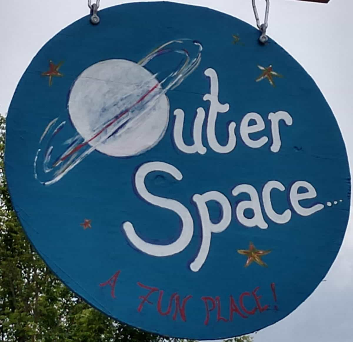OuterSpace sign